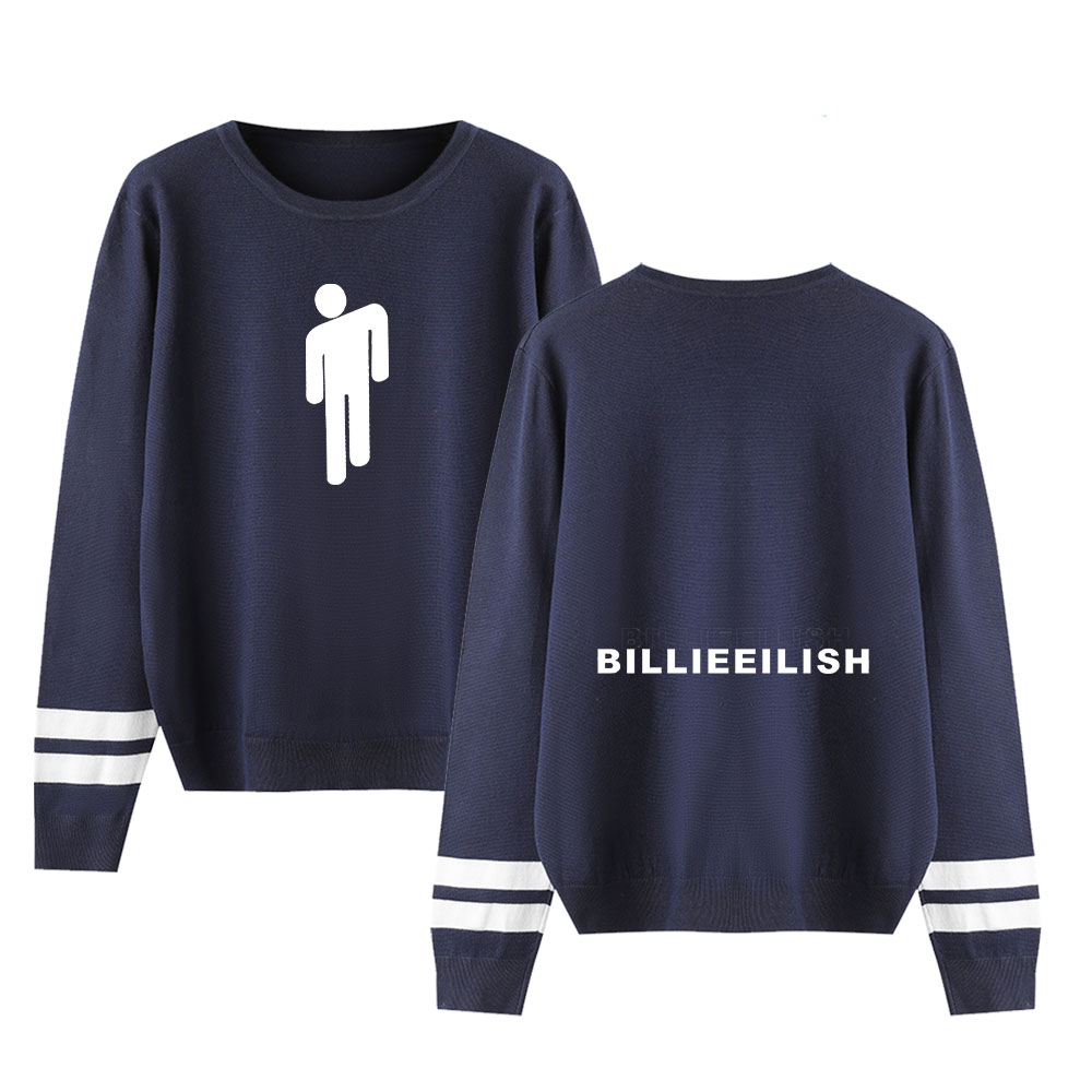Billie Eilish Sweaters Fall/Winter Warm Sweaters Knitting O-Neck Sweaters Men Women Casual Pullovers Streetwear Fashion Sweaters