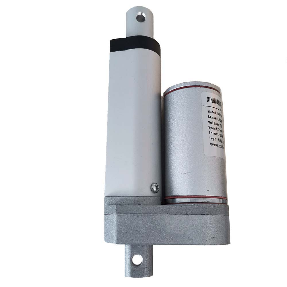 Metal DC 12V Linear Actuator 500N Max Lift 400mm Stroke Electric Motor for Medical Auto Car Linear Actuator