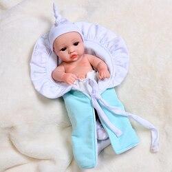 30CM bébé Reborn poupées jouets pour enfants Collocation vêtements plein corps Silicone preuve de l'eau bain jouet Bebe Reborn enfant en bas âge garçon filles