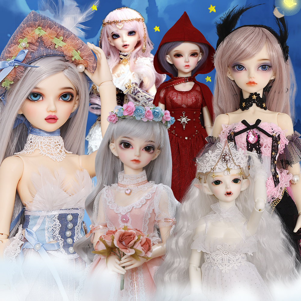 Fairyland Minifee BJD Dolls 1/4 Fullset Option Chloe Nude Doll Ball Jointed Dolls Toy For Children Girlish Collection Oueneifs