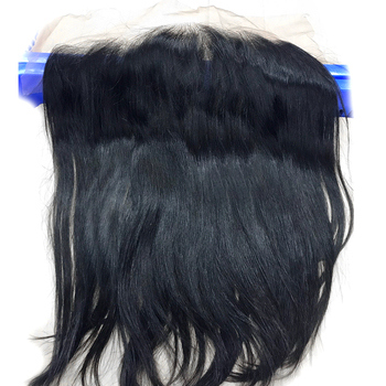 Luvin OneCut Hair Straight HD Transparent Ear To Ear Lace Frontal Closure With Baby Hair 13x4 Pre Plucked Brazilian Frontal