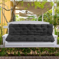 New Waterproof Dustproof Chair Replacement Canopy 150CM 3 Seater Garden Swing Cushion Fabric Cover Dust Covers Sponge Chair Cove