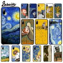 Babaite Van Gogh Starry Sky Art DIY Cases Cover For Xiaomi Mi A1 A2 Lite Redmi Note 2 3 4 4x 5 5a 6 Mobile Phone Accessories(China)