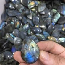 2 шт натуральный Лабрадорит Кристалл грубая полированная скала камень шарик точка естественное Исцеление чакры в рейки каменная коллекция