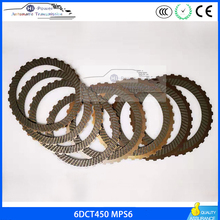 6DCT450 MPS6 Transmission Clutch Friction plate kit For VOLVO CHRYSLER FORD LAND ROVER