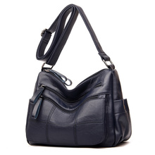 Hot Soft Leather Bolsa Luxury Ladies Hand Bags Female Crossbody Bags for Women Shoulder Messenger Bags Thread Sac A Main Femme