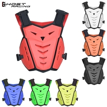 GHOST RACING Motorcycle Armor Vest Motorbike Chest Back Protector Motocross Racing Protection Protective Gear