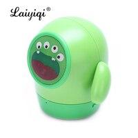 Laiyiqi nette Mini Mung Bean bluetooth lautsprecher tragbare grün puppe Freisprechen anruf cartoon kid geschenk caixa de som altavoz kind BT