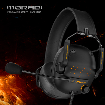 7.1 Surround-Sound Headset Pro Wired Gaming Stereo Headphone Gamer With Microphone Magnetic earmuffs For PC,PS4,Xbox One,Switch 2