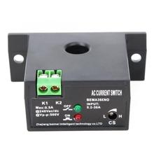 Normally Open/Normally Closed Current Sensing Switch Flameproof Adjustable AC 0.2~30A Self-Powered Sensor Swtich