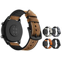 Smart Watches Strap Band for Huawei GT 2 46mm Amazfit bip ticwatch pro accesorios Leather Silicone SIKAI Bracelet