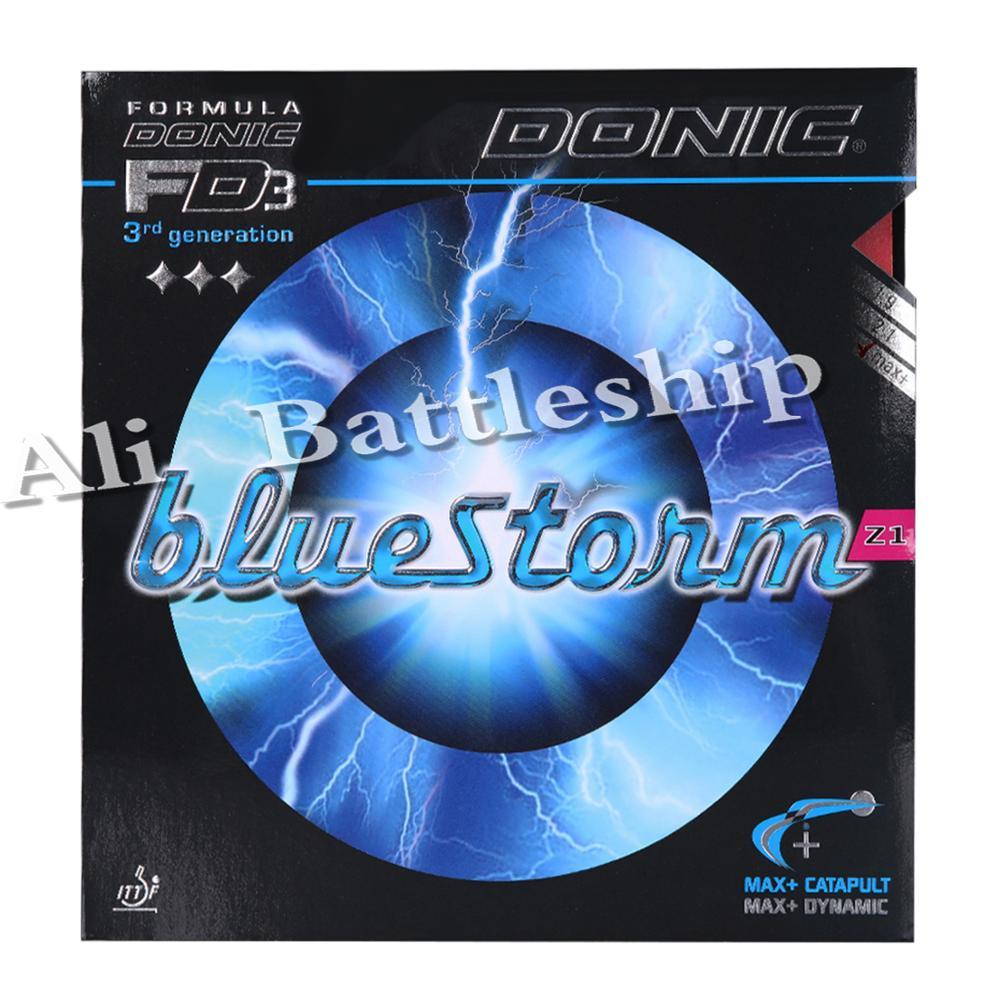 DONIC BLUESTORM BlueStorm Z1  Table Tennis Rubber Ping Pong  Sponge Tenis De Mesa