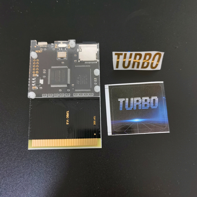 Cartucho de juego 500 en 1 para turbografx, Cartucho para consola de juegos pc engine Turbo GrafX