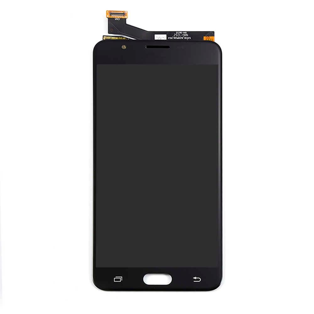 G610 شاشات LCD لسامسونج غالاكسي J7 رئيس lcd G610 G610F G610M شاشة إل سي دي باللمس شاشة مجموعة رقمية لسامسونج J7 رئيس LCD