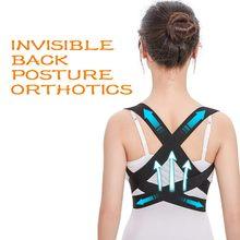 Dos Invisible Posture orthèses correcteur soutien bretelles épaule poitrine ceinture adulte enfants Corset colonne vertébrale ceinture Correction # N