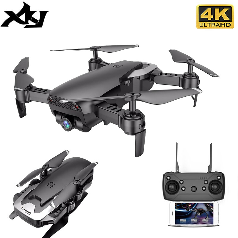 RC Drone 4K HD Camera Professional Aerial Photography Helicopter Foldable Real Time Transmission Quadcopter