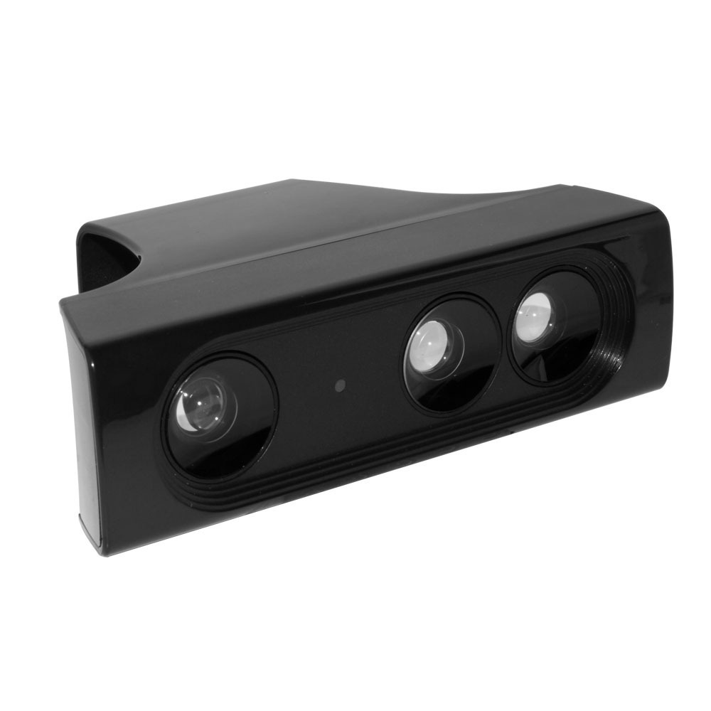 OSTENT Super Zoom Wide-Angle Lens Sensor Range Reduction Adapter for Microsoft Xbox 360 Kinect