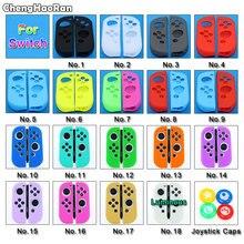 Chenghaoran Dẻo Silicone Dành Cho Nintendo Switch Cover Mềm Điều Khiển Vỏ Tay Cầm Bảo Vệ Cho NS Joycon Bộ Điều Khiển Cầm Bao Da