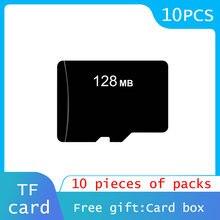 10 pçs/lote 64mb 128mb 256mb 512mb 2gb 4gb 8gb tf cartão micro cartão de memória segura digital transflash cartão tarjeta micro
