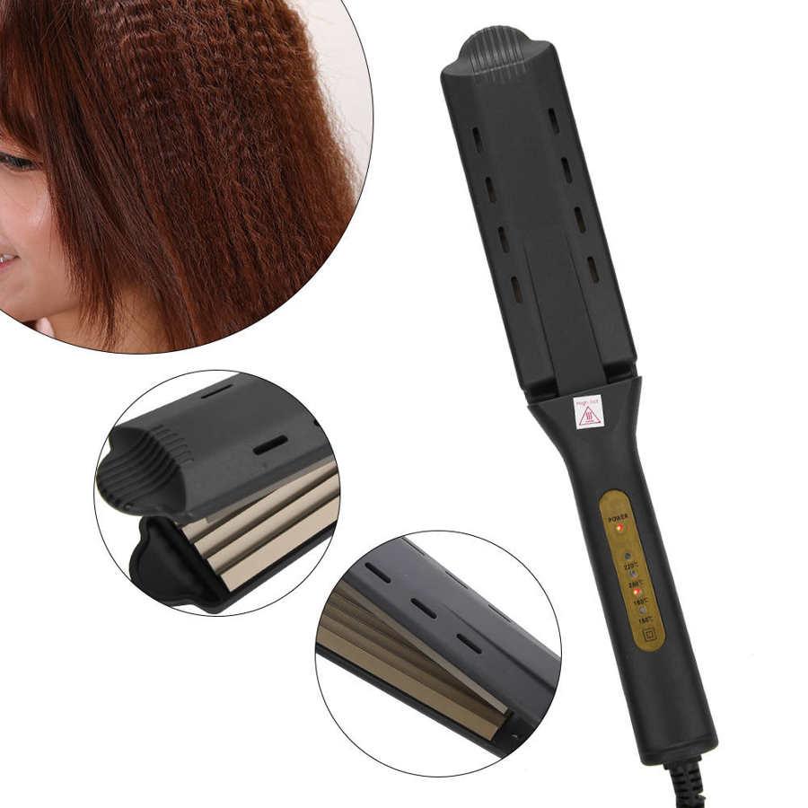 Alisador de cabelo 4 engrenagens ajuste temperatura
