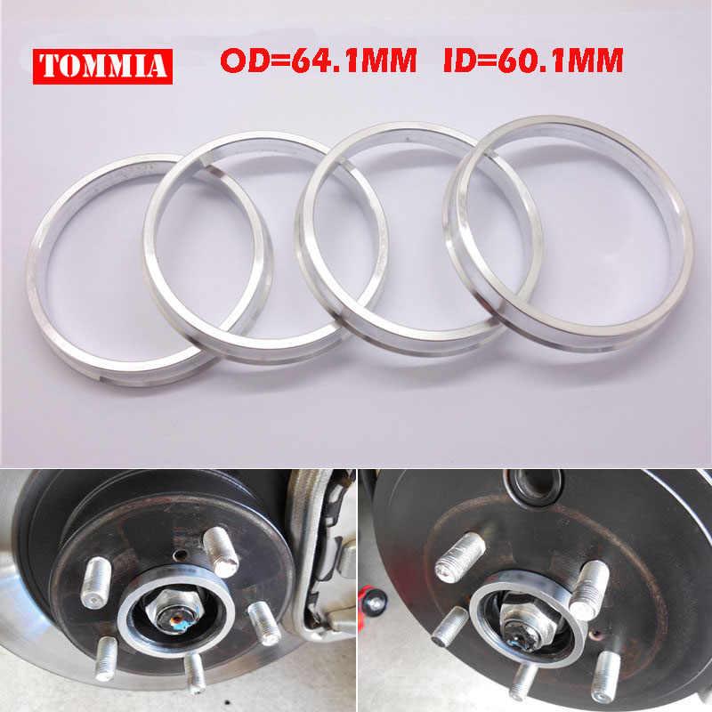 Aluminium Alloy-4 Pcs Wheel Hub Centric Rings OD= 66.1 mm ID= 56.1 mm