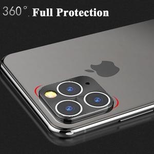 Image 2 - カメラレンズ保護リング Iphone 5 11 プロ強化ガラス 11Pro 最大 2019 電話金属合金電話バックプロテクター