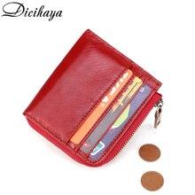 DICIHAYA Rfid Card Holder Women Wallets Money Bag Male Fashion Short Purse Small