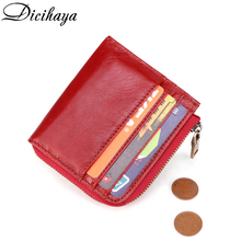 DICIHAYA Rfid Card Holder Women Wallets Money Bag Male Fashi