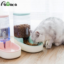 3.8L Pet cat автоматические кормушки пластиковая бутылка для воды для собак большая емкость дозатор для воды для еды кошки собаки миски для кормления поилка