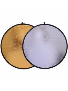 "CY Free shipping 20""/50cm Handhold Multi Collapsible Portable Disc Light Reflector"