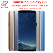 Samsung Galaxy S8 Duos G950FD Dual Sim 4GB RAM 64GB ROM Global Version Cellphone NFC 6.2