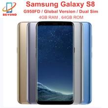 Samsung Galaxy S8 Duos G950FD Dual Sim 4GB RAM 64GB ROM Globale Version Handy NFC 6.2