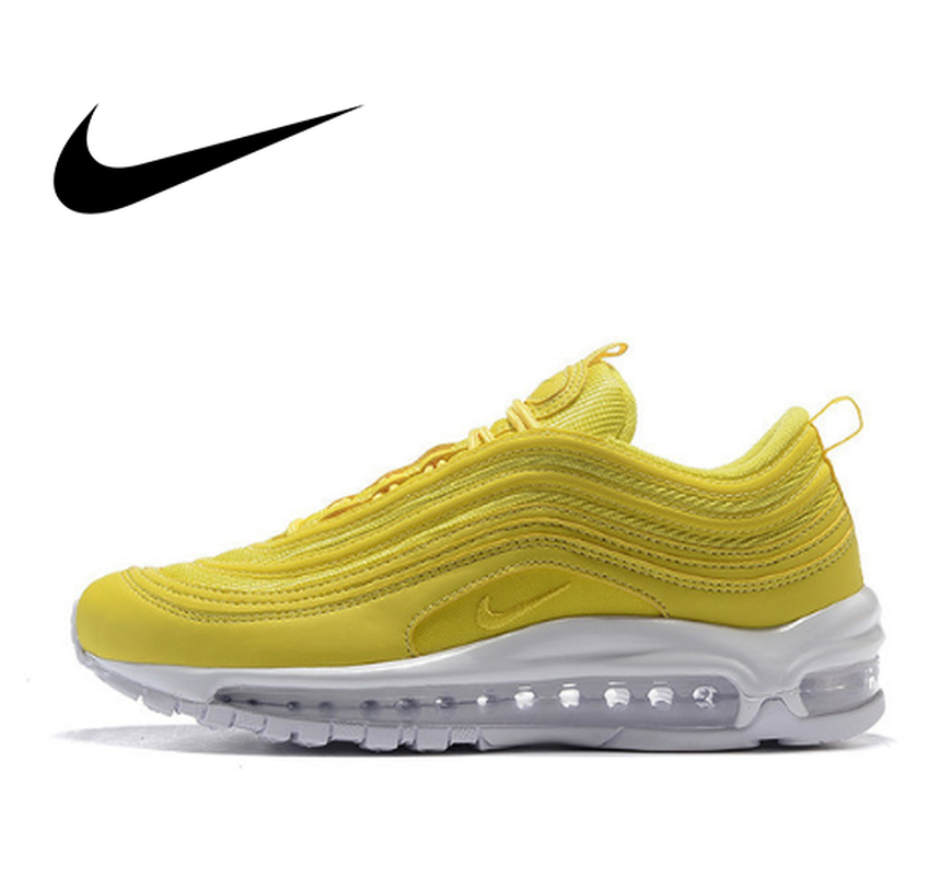 Original Men's Running Shoes Outdoor Sports Shoes Nike Air Max 97 OG QS Footwear Designer Athletic 2019 New Listing 917646-008