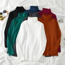 harajuku Elasticity Women T-shirt Basic T-shirts Bottoming Tee Tops