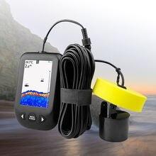 Портативный эхолот рыболокатор с сигнализацией кабель 9 м 06