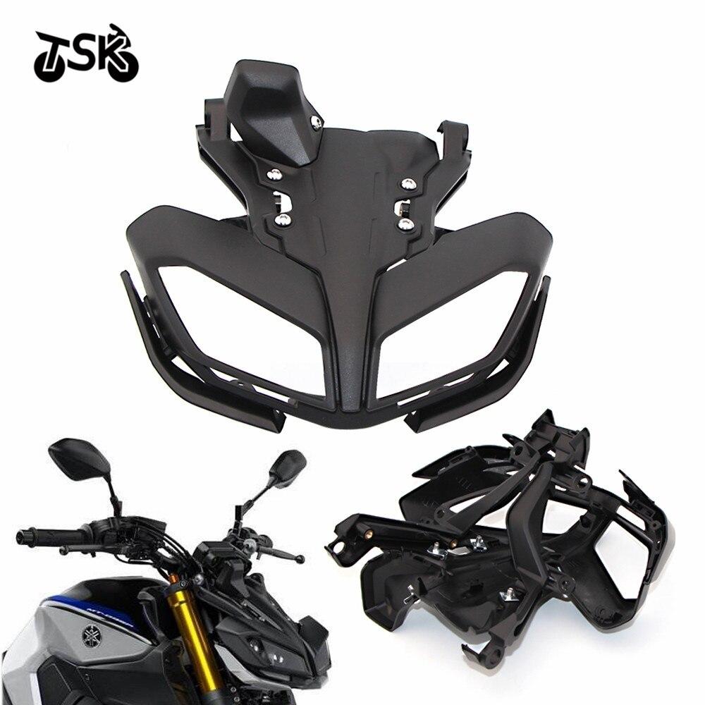 For YAMAHA MT - 09 2017 -2019 FZ 09 2017- 2019 Shell Headlight Shield Bracket Hood Motorcycle