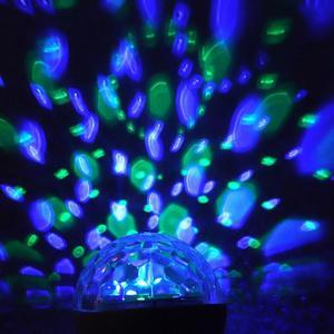 Image 5 - Led disko ışığı sahne ışığı müzik sahne ışığı u disk hafıza kartı Bluetooth hoparlör bağlantı DJ parti Bar noel cadılar bayramı dekor