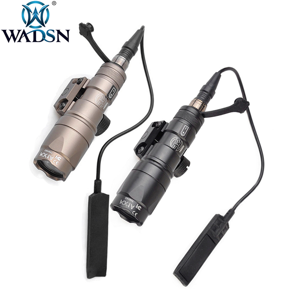 WADSN Airsoft Surefir M300 M300B Mini Scout Light 280Lumens LED Tatical Hunting Tactical Torch Weapon Flashlight