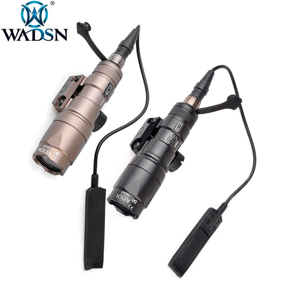 WADSN Airsoft Surefir M300 M300B Mini Scout Light 280Lumens LED Tatical Hunting Tactical Torch Weapon Flashlight