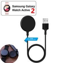 Быстрая зарядка для часов, зарядное устройство с источником питания для Active2 samsung Galaxy Watch 40 мм 44 мм, портативное беспроводное зарядное устройство для часов