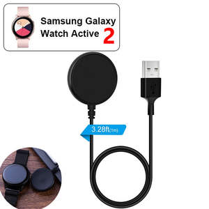 Fast Watch Charging Power Source Charger For Active2 Samsung Galaxy Watch 40mm 44mm  Portable Wireless Watch Charger