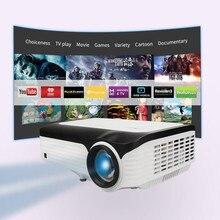 CRE X2001 FULL HD 1080P портативный светодиодный мини-проектор для Android 1920x1080 lcd 200 дюймов кабель светодиода для игра для домашнего кинотеатра Кино