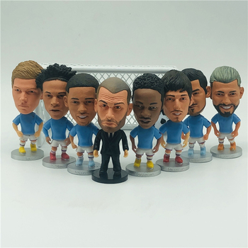 Soccerwe 2.55 Height Football Cartoon Dolls Pep Sterling Kevin Kun Figures image