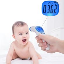 Non-contact body/Object thermometer Forehead Digital Infrared Thermometer Portable Non-contact Termometro Baby/Adult Temperature family baby medidor de febre non contact infrared thermometer fahrenheit or celsius scale mode body object temperature monitor