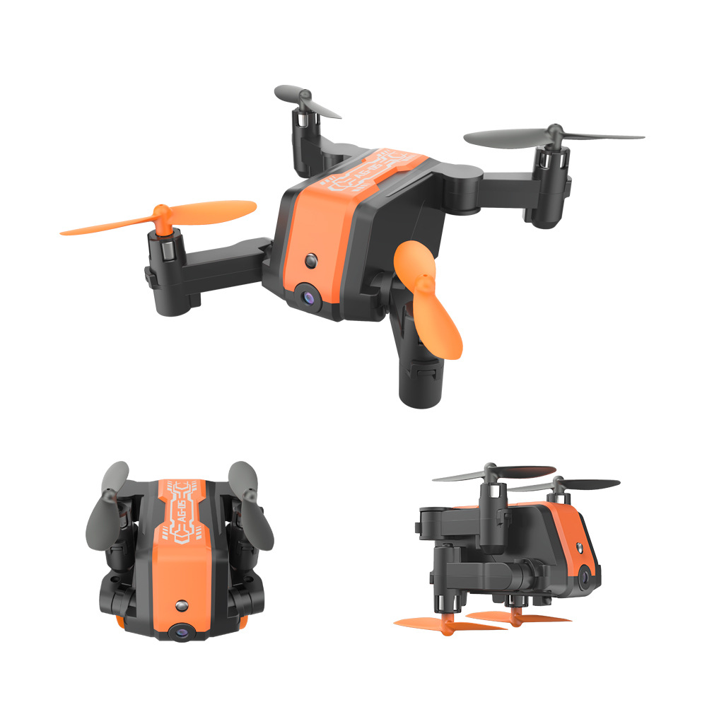 AG-05 Mini Folding Unmanned Aerial Vehicle High-definition Aerial Photography Quadcopter Drop-resistant Remote Control Aircraft