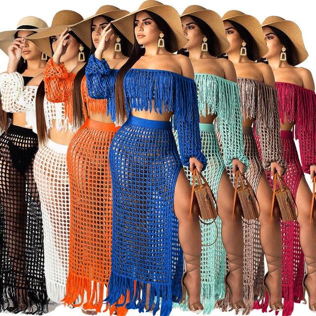 Fringed Tassel Beach Dress 2