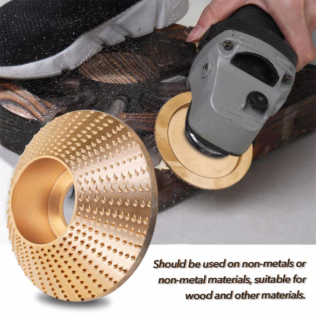 Polishing Carbide Wood Sanding Carving Shaping Disc For Angle Grinder Grinding Wheel Sale Accessories Tool Woodworking