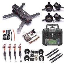 QAV250 250 millimetri In Fibra di Carbonio Quadcopter Telaio 2204 2300kv Motore simonk 12A ESC F3 Acro Controllore di Volo Flysky FS i6X