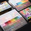 Brutfuner 48/72/120/160/180 Цвет поверхность специальное масло для Цвет набор карандашей древесина мягкая вода Цвет карандаш для рисования принадлежно...