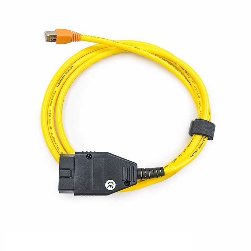 Cabo de Interface Ethernet para OBD 16pin E-SYS ICOM Codificação F-série de Alto Desempenho Para BMW ENET Códigos de Falha de Diagnóstico scanner
